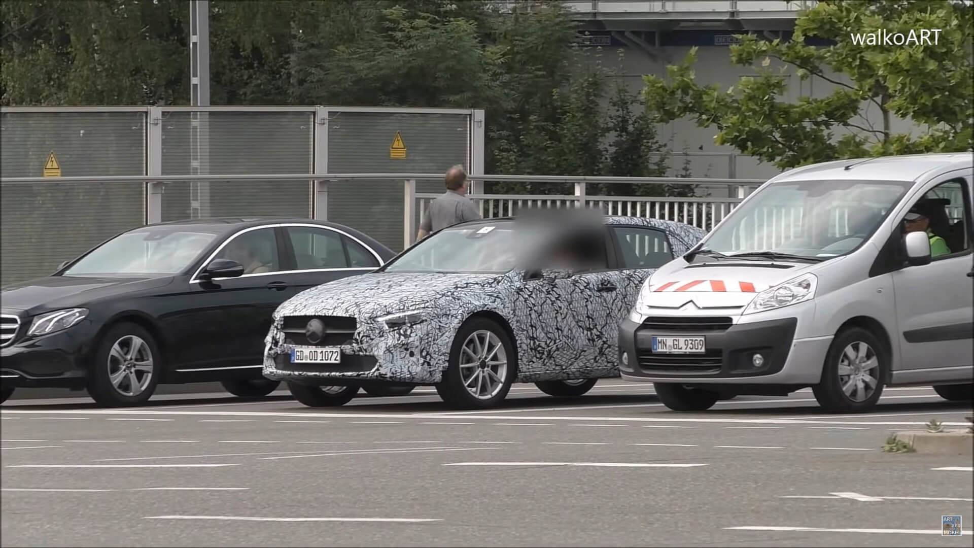 Next Mercedes Gla Class Spied Showing Svelte Shape At The Ring