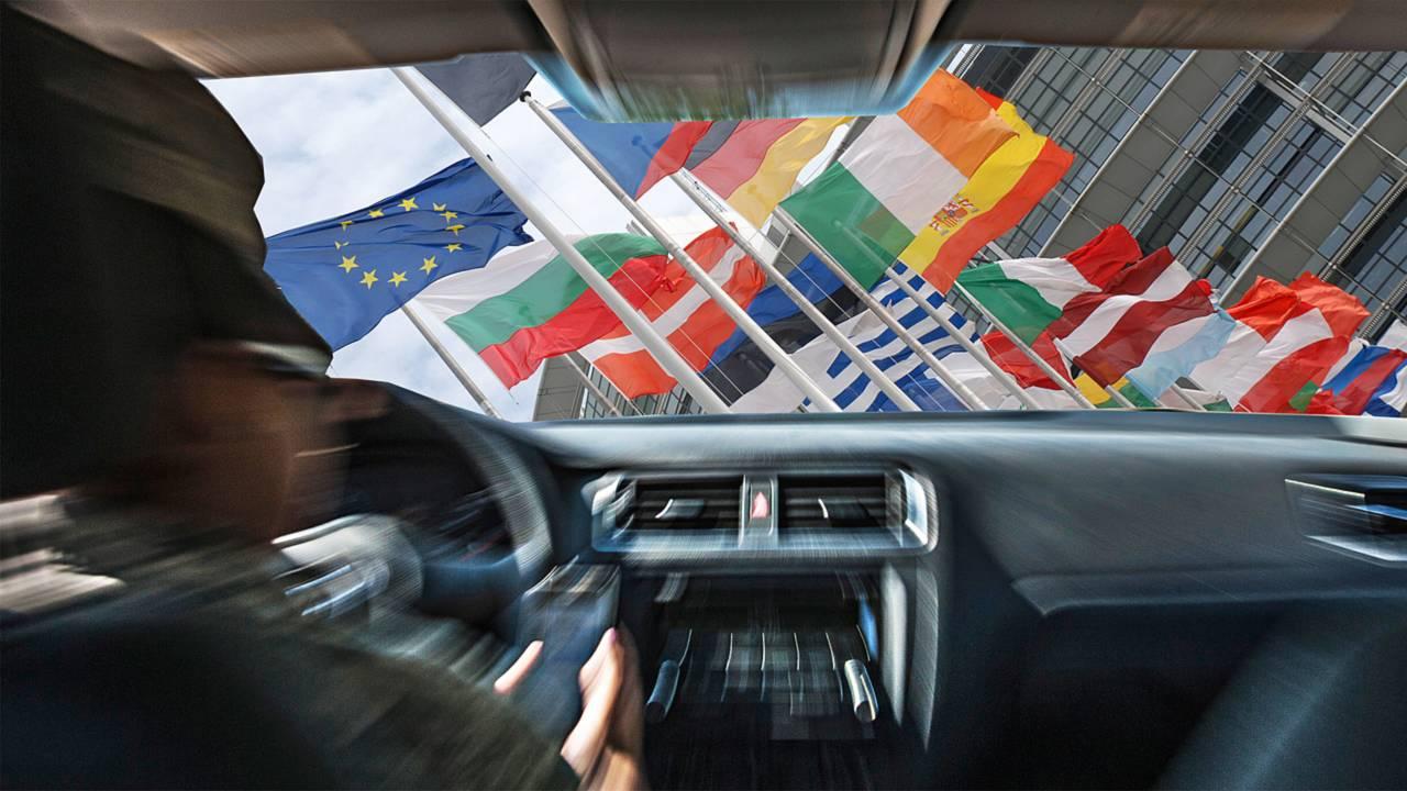 Automobilisti italiani ed europei, chi guida meglio?
