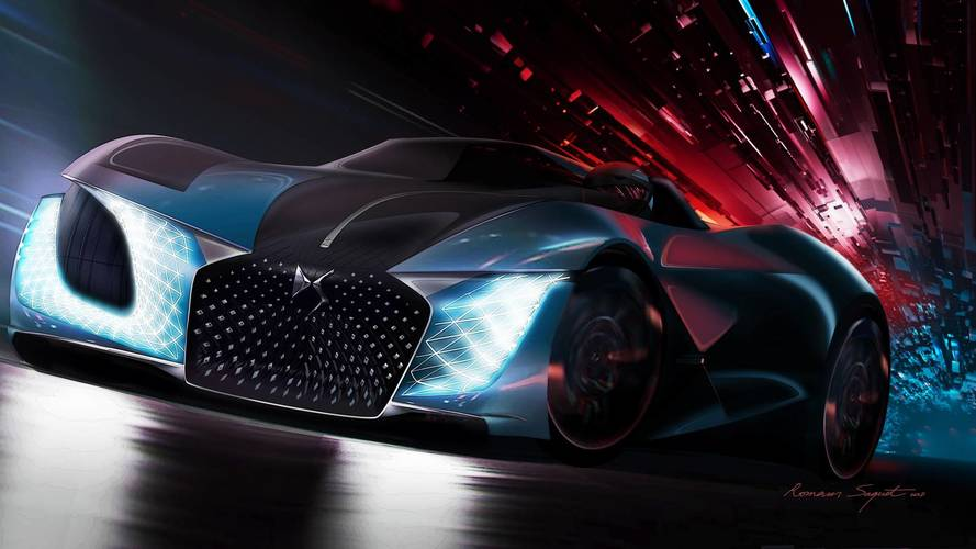 DS X E-Tense concept is a vision of 2035