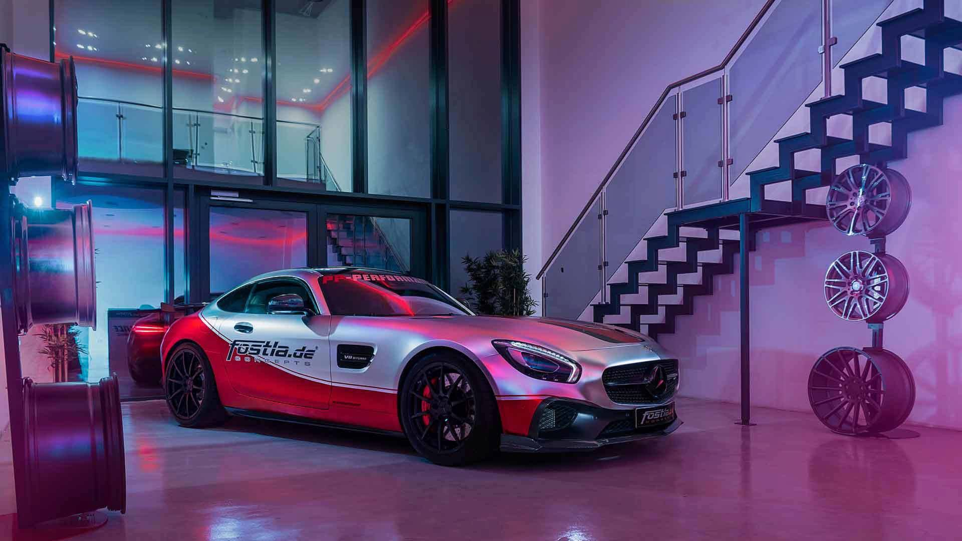 Flashy Mercedes-AMG GT S Has $32,600 Worth Of Aftermarket Goodies