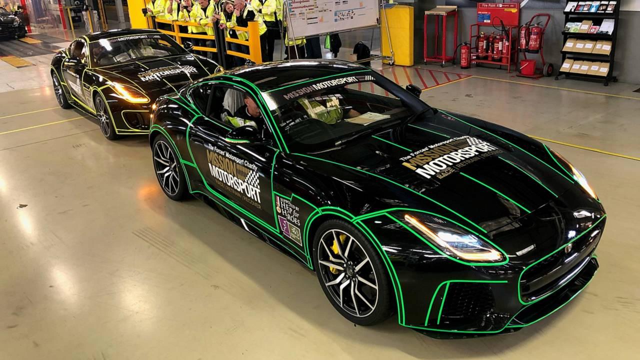 Mission Motorsport Jaguar F-Types