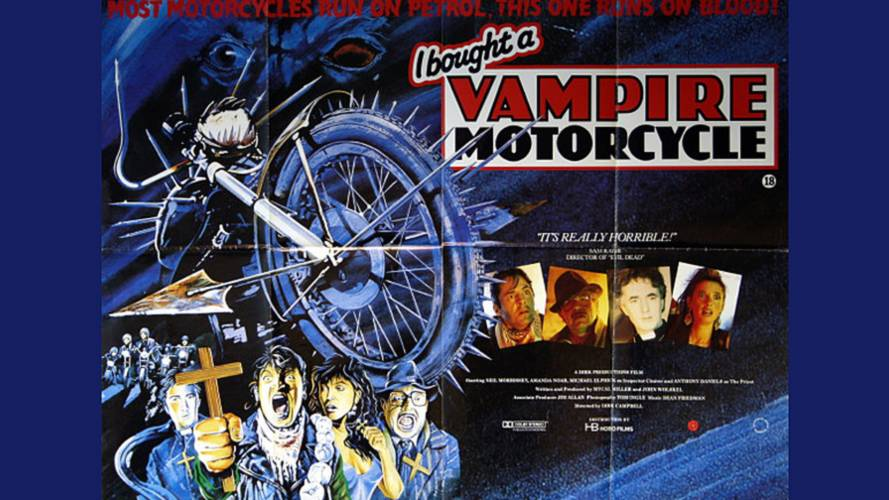 Scooter Trash: I Bought a Vampire Motorcycle