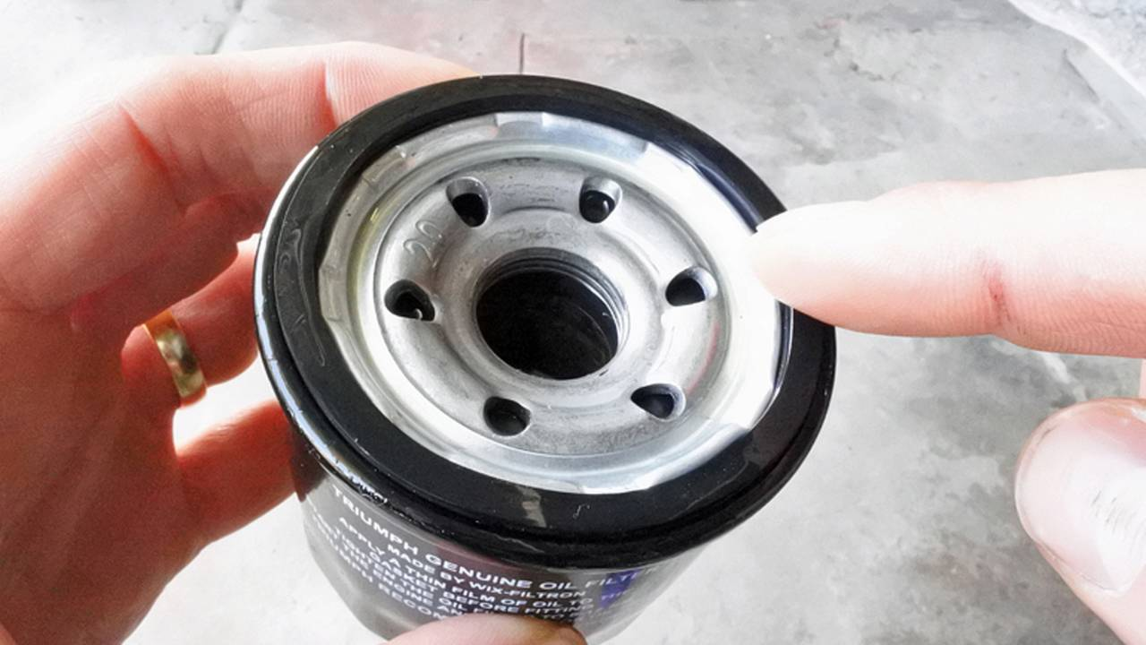 Make sure to lube that O-ring.