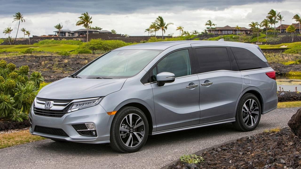 9. Minivan: Honda Odyssey
