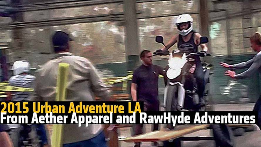 Ride Like a Cop - The 2015 Urban Adventure LA From Aether Apparel and RawHyde Adventures