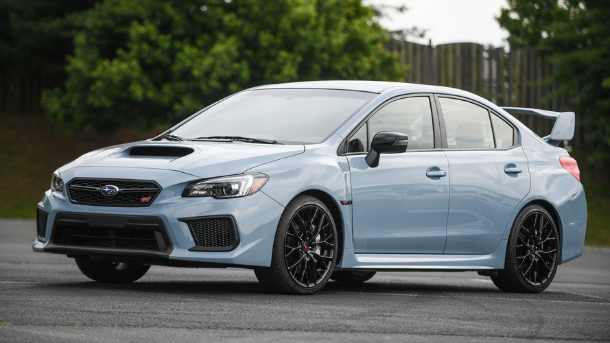 Subaru Drops Photos Of 2019 WRX, WRX STI Series.Gray