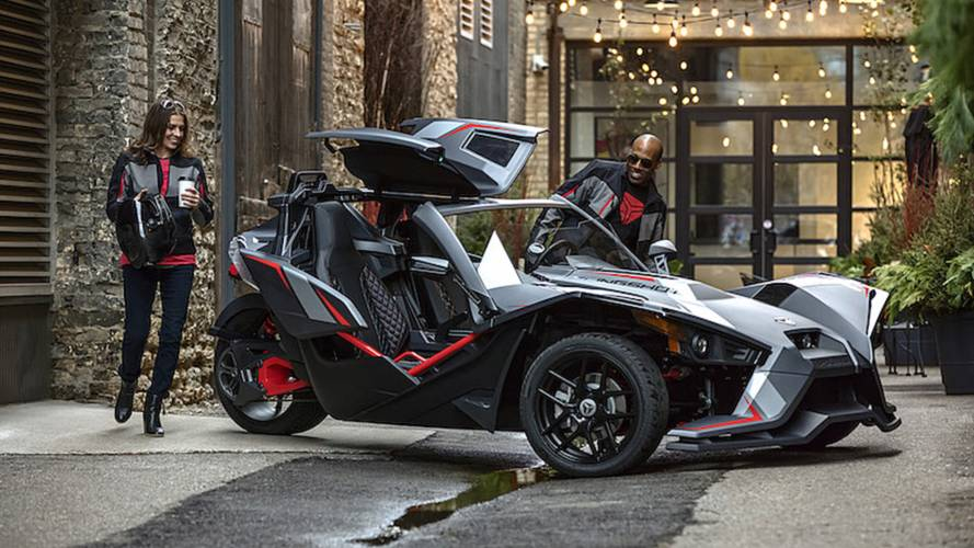 Fancy New Slingshot Has Roof, Delivers Goods
