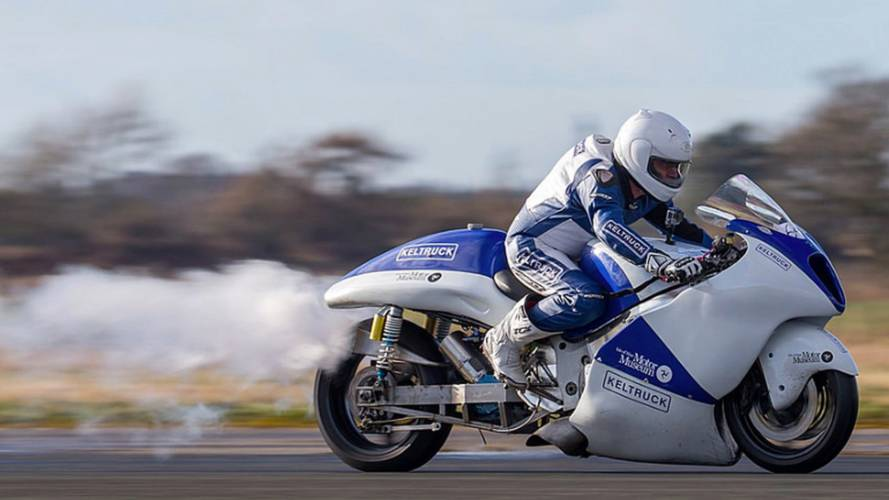 Chasing Land Speed Records on a Steam-Powered Hayabusa