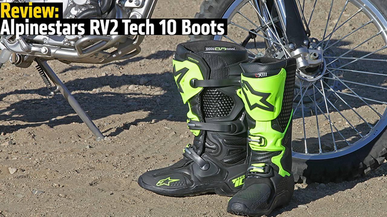 Review: Alpinestars RV2 Tech 10 Boots