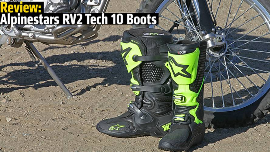 Review: Alpinestars RV2 Tech 10 Boots