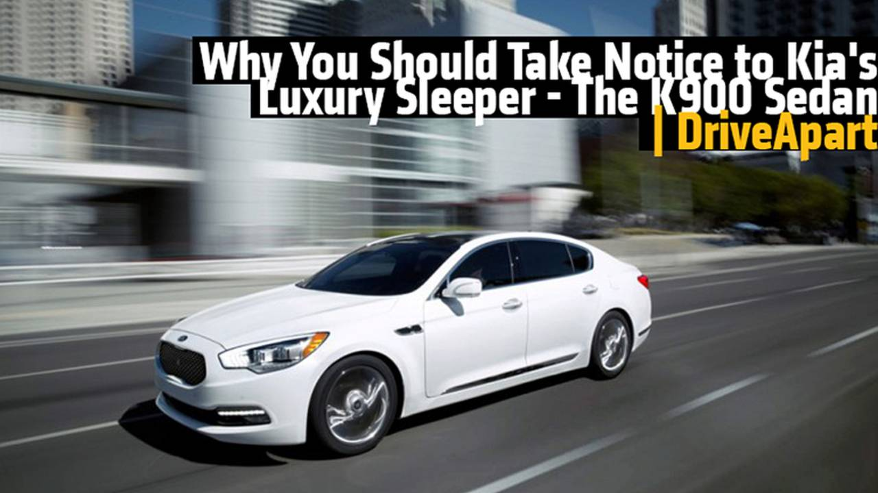 Why You Should Take Notice to Kia's Luxury Sleeper - The K900 Sedan