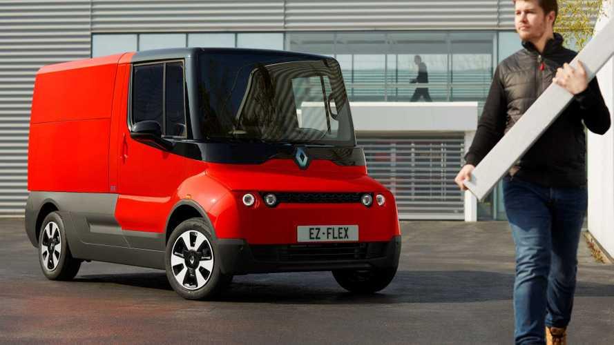 Renault EZ-Flex: Vernetzter Elektro-Lieferwagen für die Stadt