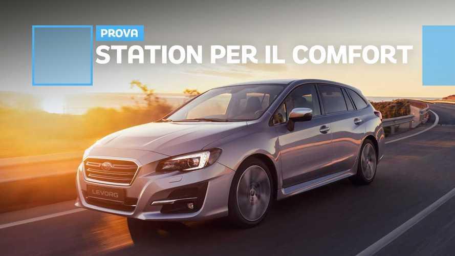 Subaru Levorg, ora sceglie il comfort