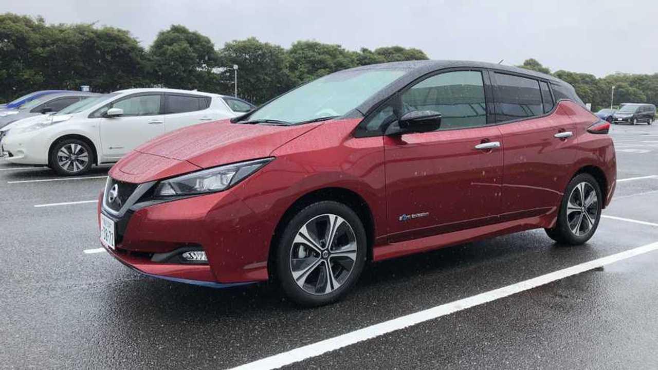 Nissan LEAF in Japan