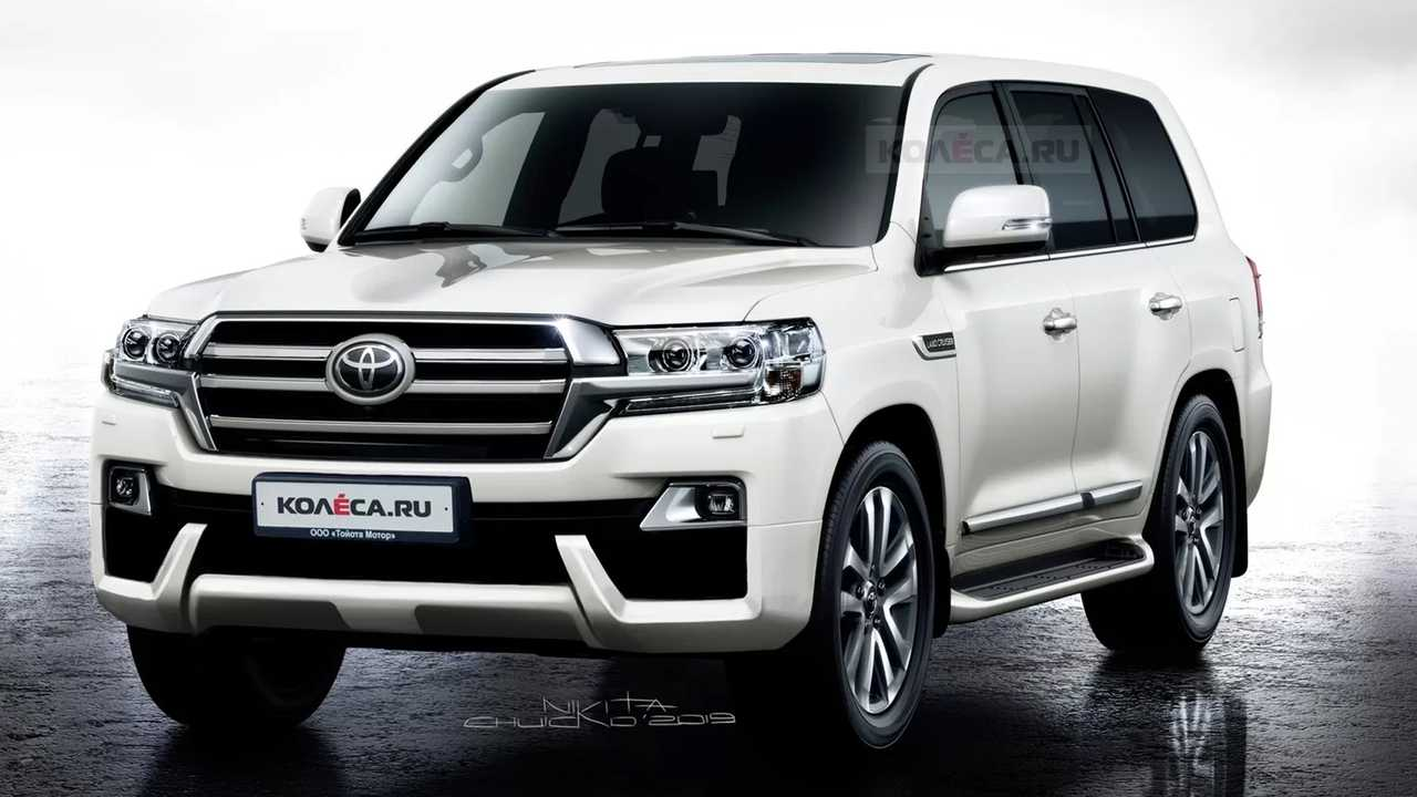 Toyota Land Cruiser Rendering