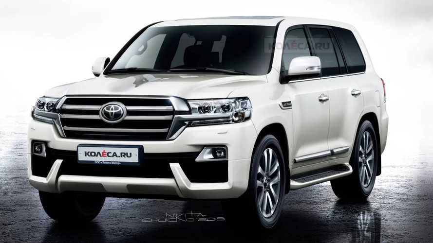 Рендеры Toyota Land Cruiser