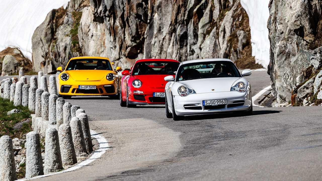 Porsche 996.2 GT3, 997.2 GT3, 991.2 GT3
