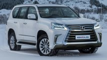 Lexus GX Refresh Render