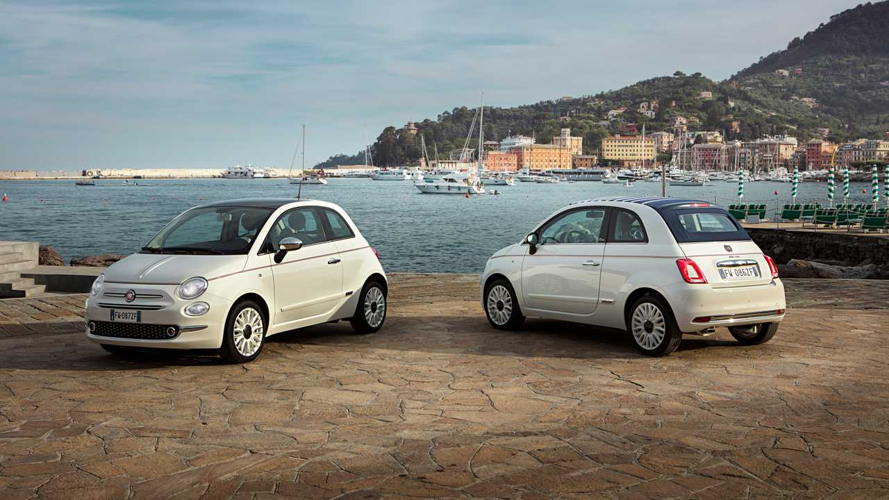 Fiat 500 et 500C Dolcevita