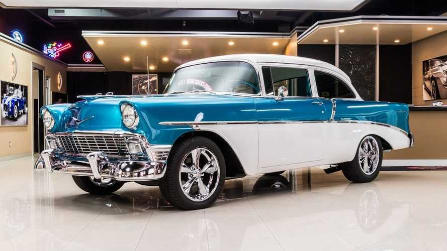 Two-Tone 1956 Chevrolet 210 Is A Stunning Throwback