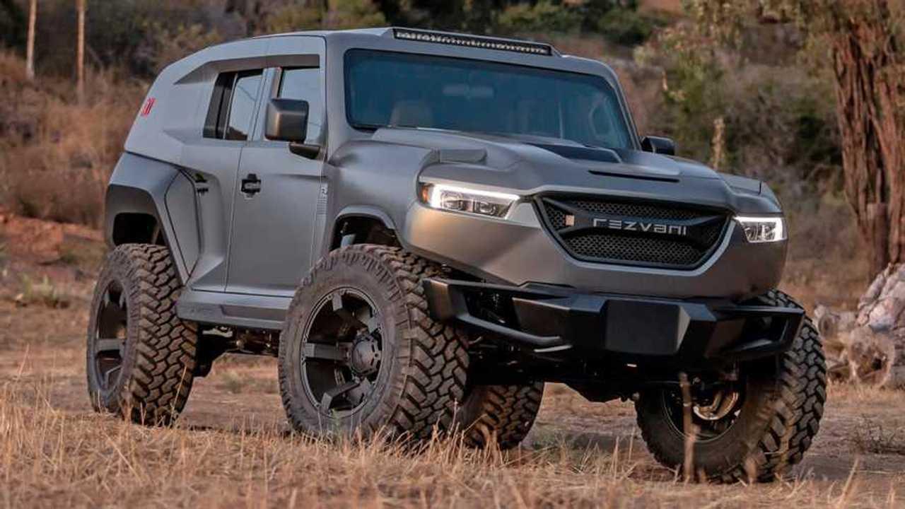 Rezvani Tank X 2020 es una SUV de $349,000 con un motor ...