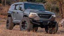 Der neue Rezvani Tank X ist ein 350.000-Dollar-SUV mit Dodge-Demon-Motor