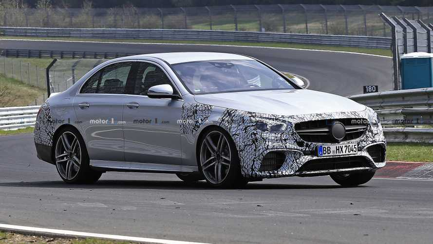 2021 Mercedes-AMG E63 Caught Glued To The Nurburgring Tarmac