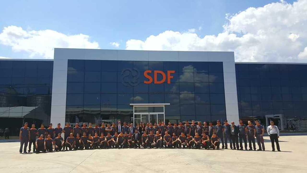 Same Deutz Fahr (SDF) Traktör Fabrika Açılışı