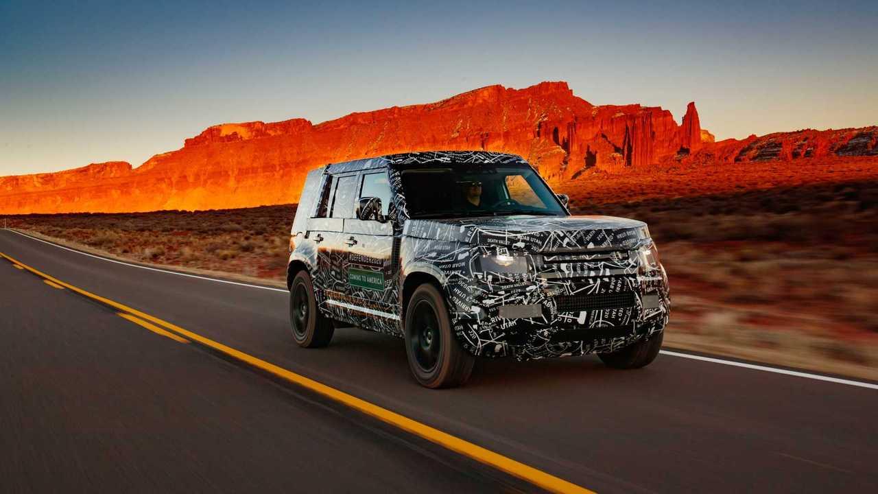 Land Rover Defender 2020, nuevas fotos espía oficiales