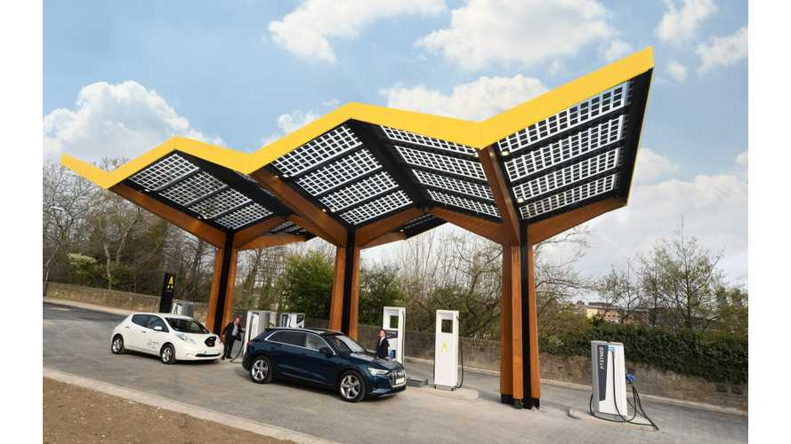 Fastned Opens Its First 350 kW Charging Station In The UK