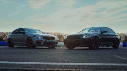 Top Gear drag races BMW M5 vs 774-bhp tuned M5