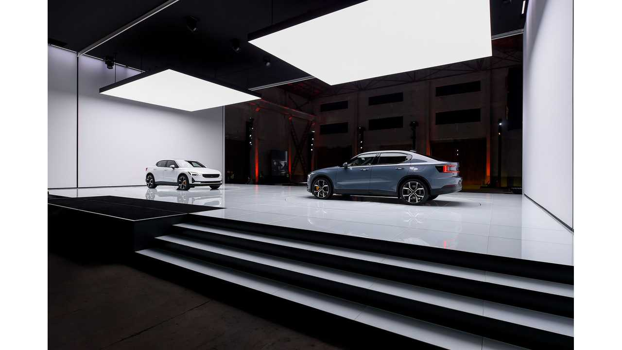 Polestar 2 in Shanghai, China