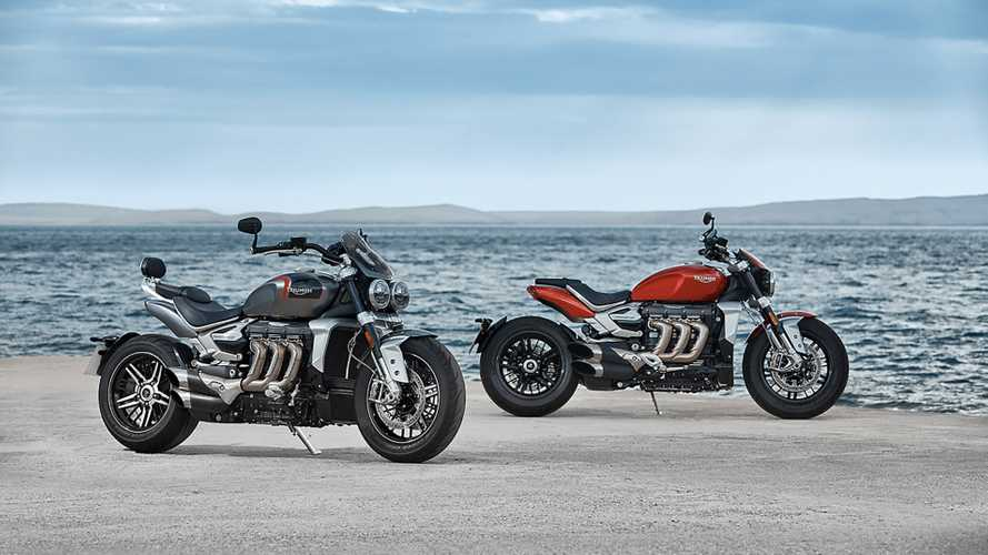 Triumph Unveils Not One But Two New 2020 Rocket 3