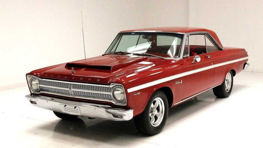 Blazing Red 1965 Plymouth Belvedere Gets Engine Upgrade