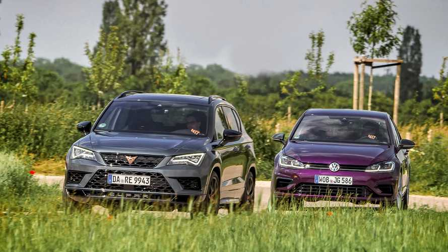 Test VW Golf R vs Cupra Ateca: Hot-Hatch-Revolution?