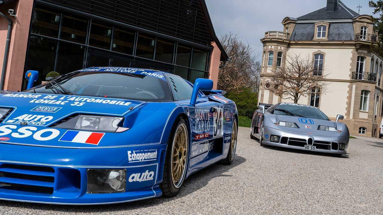 Legende Bugatti EB110