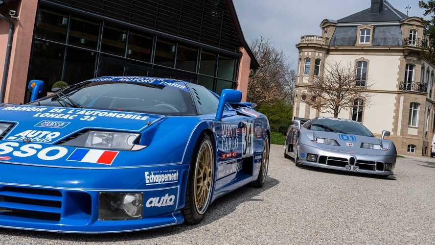 Bugatti EB110: Der Supersportwagen vor dem Veyron