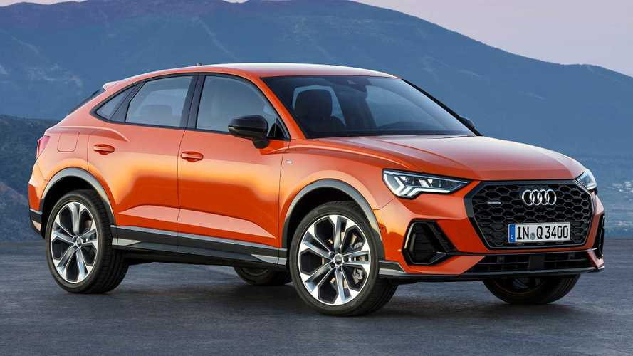 2020 Audi Q3 Sportback revealed with sloped roof, sportier look