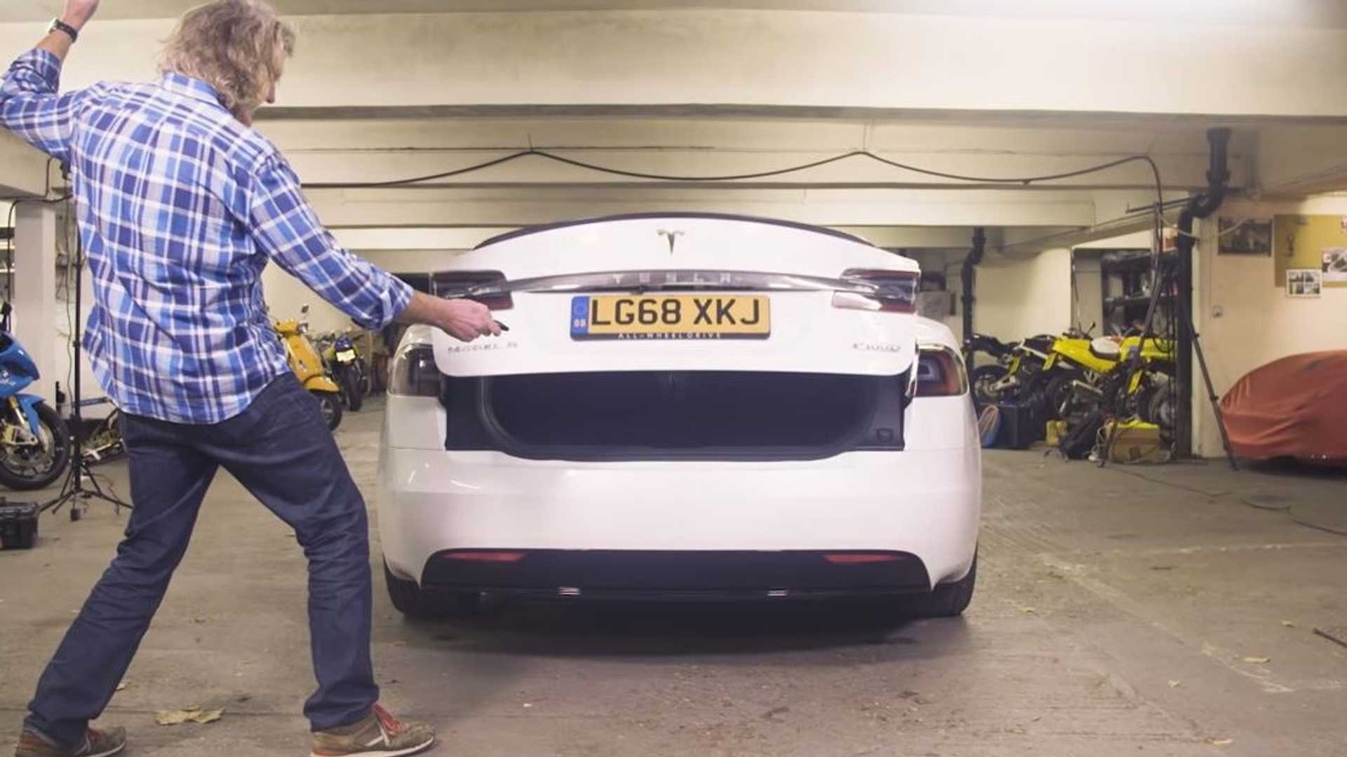 What Does James May Think Of The Tesla Model S P100D?