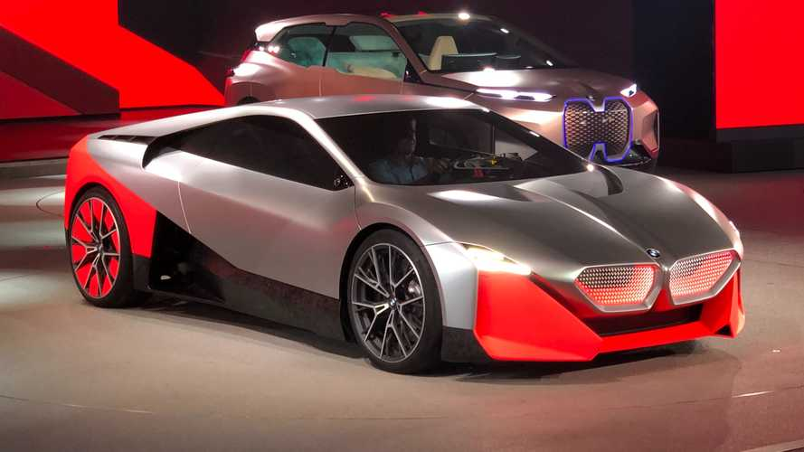 BMW Vision M Next Plug-In Hybrid Concept Debuts With 600 Horsepower
