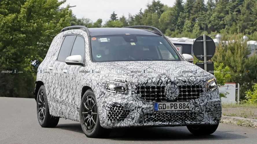 Mercedes-AMG GLB 35 yeni casus fotoğraflar