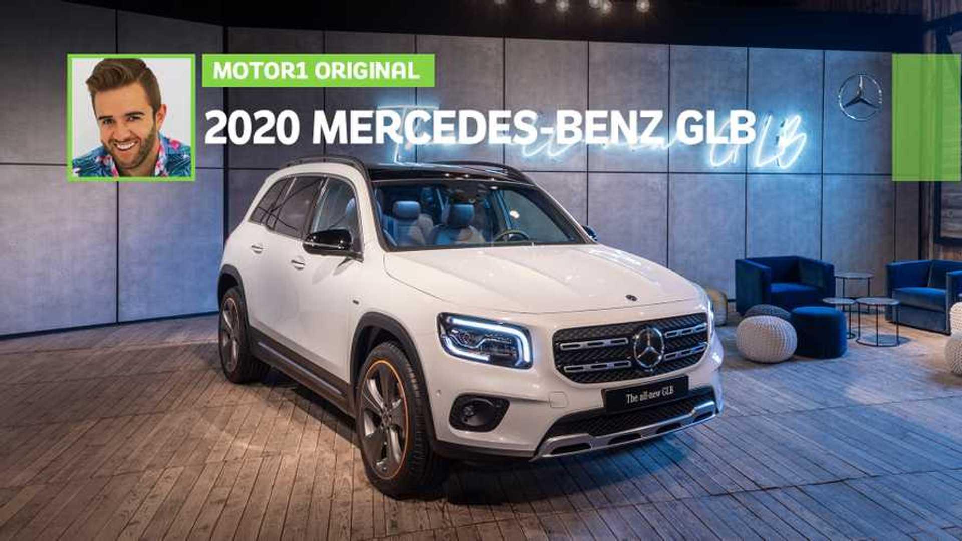 2020 Mercedes-Benz GLB: Specs, Design, Price >> 2020 Mercedes Benz Glb Class Debuts As Compact Seven Seat Suv