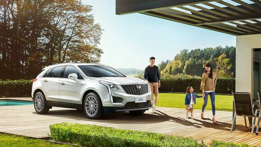 Cadillac XT5 Facellift