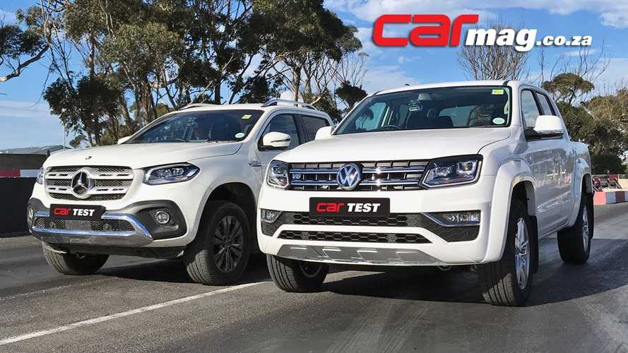 Volkswagen Amarok TDI Drag Races The Mercedes-Benz X350d