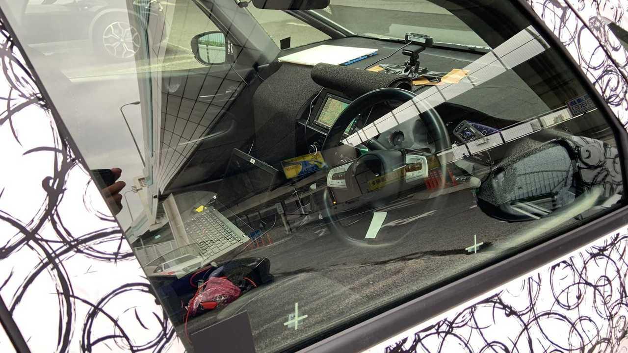 Honda Fit 2020 - Flagra do interior