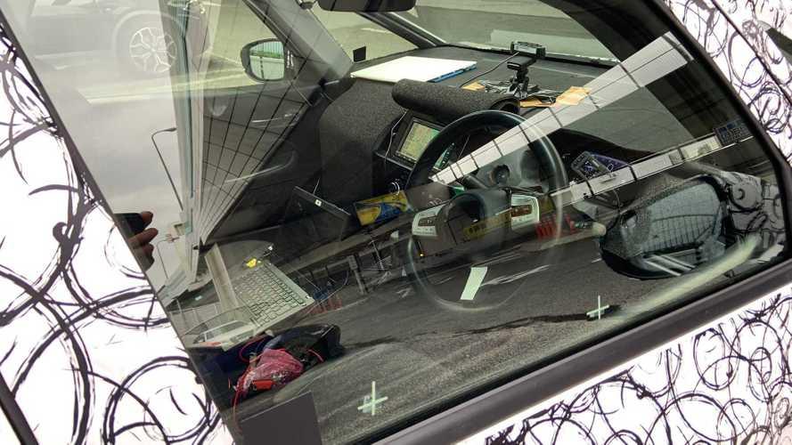 Flagra: Novo Honda Fit 2020 revela inédito painel digital em fotos