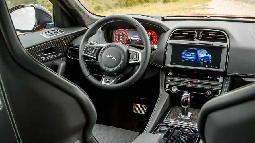 Jaguar F-Pace SVR test drive