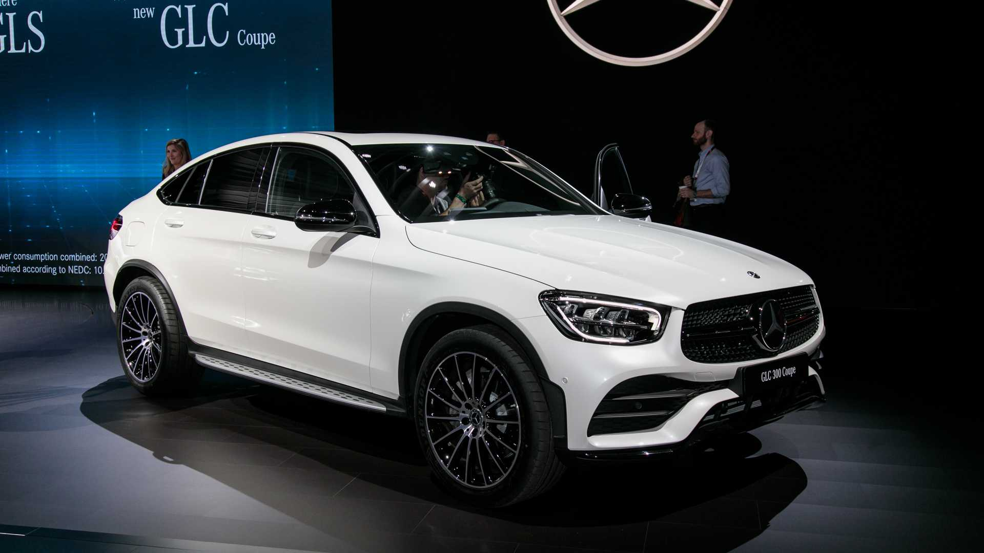 2020 Mercedes Benz Glc Coupe Gets Refreshed Face More Power