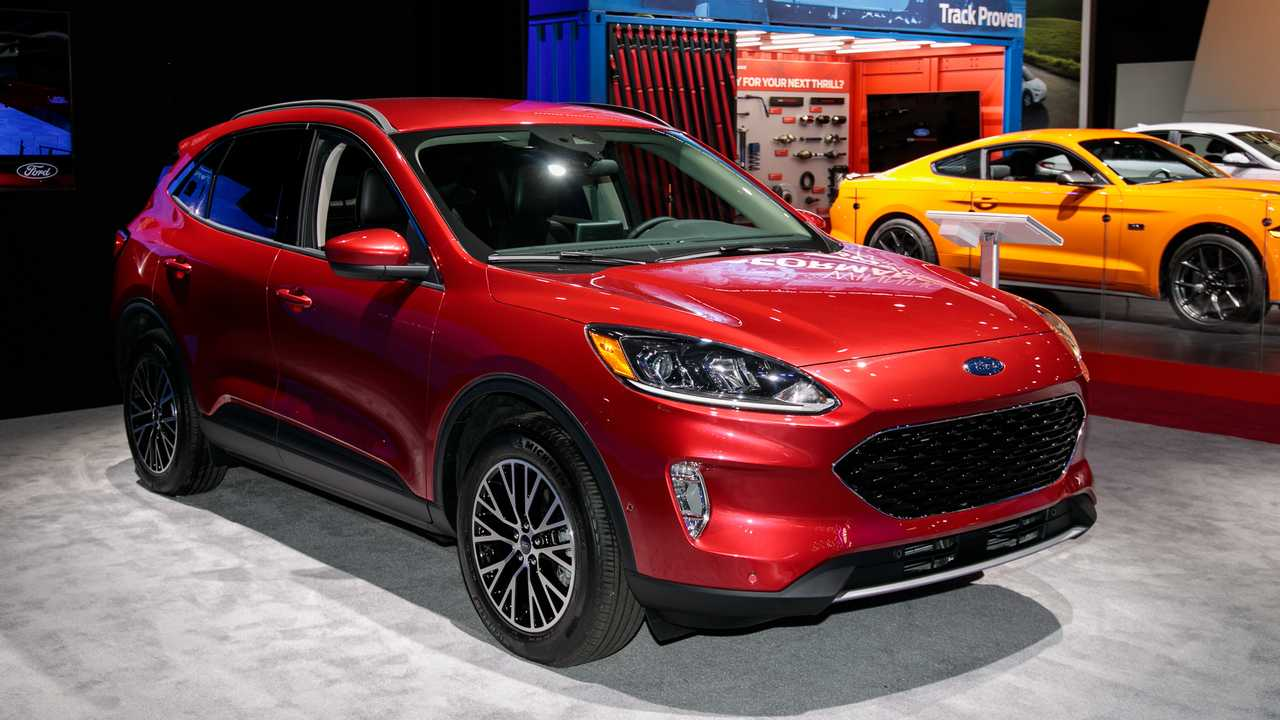 2020 Ford Escape from the 2019 New York Auto Show