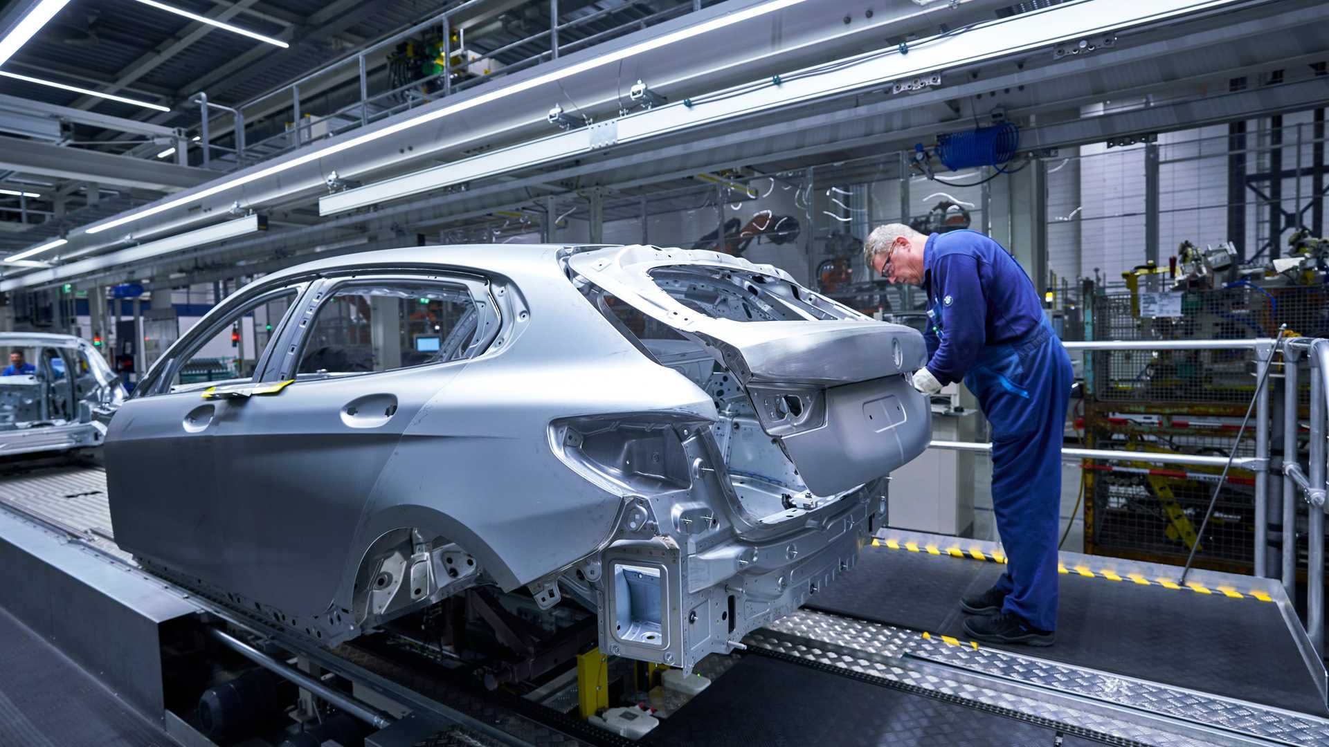 2020 Bmw 1 Series Production At Leipzig Factory 4208162